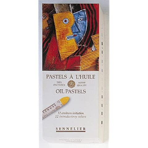 Sennelier Artists Oil Pastels - Set of 12 x Introductory