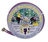 Dramm 17036Colorstorm Premium Gummi Gartenschlauch, 25'x 1/5,1cm Berry