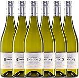 6er Vorteilspaket - Horgelus Blanc 2017 - Domaine Horgelus | trockener Weißwein | französischer Sommerwein aus Sud Ouest | 6 x 0,75 Liter
