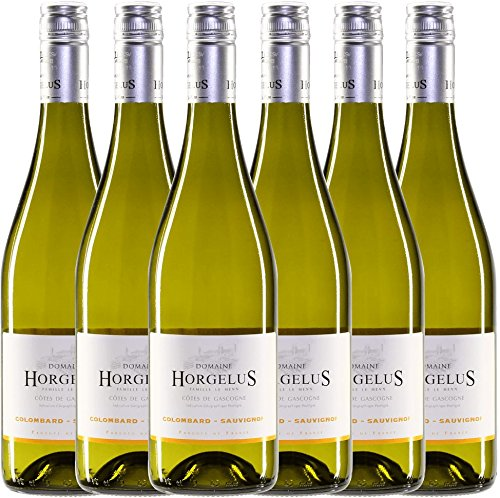 6er-Vorteilspaket-Horgelus-Blanc-2017-Domaine-Horgelus-trockener-Weiwein-franzsischer-Sommerwein-aus-Sud-Ouest-6-x-075-Liter
