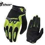 Motorrad MX Handschuhe Thor Spectrum Quad Motocross Handschuhe Enduro MTB Gloves Downhill BMX SportHandschuhe (Grun,2XL/46)