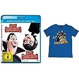 Hotel Transsilvanien 1+2 Blu-ray und T-Shirt