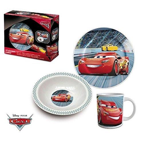 Disney Pixar Cars 3 Tlg Porzellan Geschirr