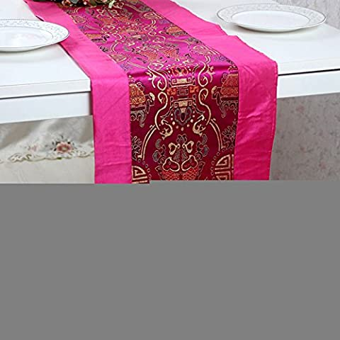 Brocade coverlets tabella bandiera placemat dual modelli