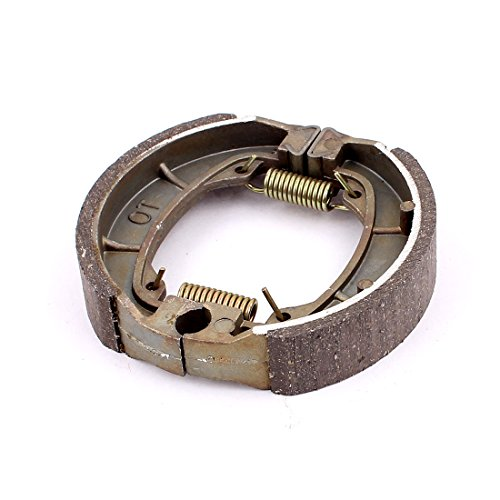 Preisvergleich Produktbild sourcingmap® Metall Keramik Feder Bremsbacken Fahrrad Motorrad Drum Pad