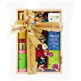 Nyassa Wooden Box 7 pc Gift Set for Men and Women. A perfect artisanal gift in a delightful pack containing an eclectic mix.