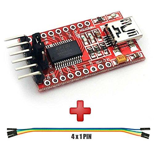 FT232RL FTDI Mini USB a TTL Conversor Serial 3