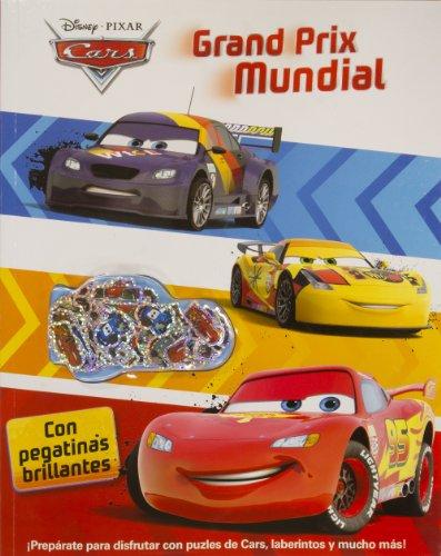 Cars. Grand Prix Mundial: Actividades con pegatinas brillantes