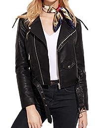 15057863d415 Amazon.fr   veste cuir femme taille 54   Vêtements