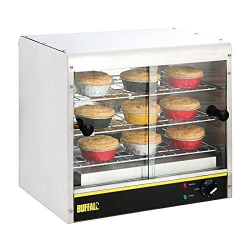 Heavy duty display pie cabinet 30 pies commercial for Perfect kitchen harrogate takeaway