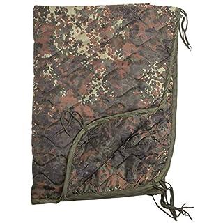 Army Military Camping Travel Poncho Liner Sleeping Bag Blanket Flecktarn Camo