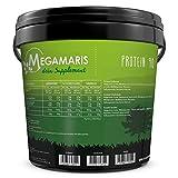 Megamaris Protein 90 5K 5 kg Eimer Mehrkomponenten Eiweiß Sojaprotein Weizenprotein Milchprotein Molkenprotein Eiprotein (Vanille)