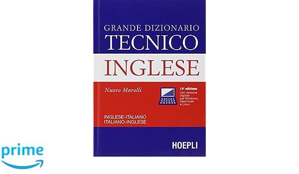 Dizionario tecnico inglese marolli: amazon. Ca: appstore for android.