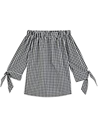 Promod Carmen-Bluse aus Baumwolle