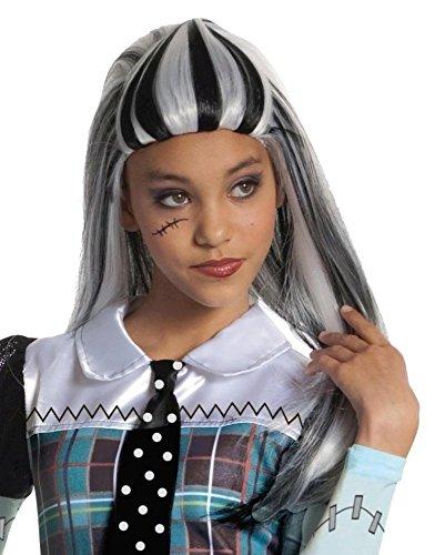Halloween Kostüme Monster High Frankie (Monster High Perücke / Frankie Stein | Einheitsgröße Kinder | Halloween Kostüm)