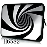 "Laptoptasche Notebooktasche 15"" - 15.6"" zoll Fall Neopren für Notebooks Dell HP Macbook Samsung Apple Toshiba*Hypno*"