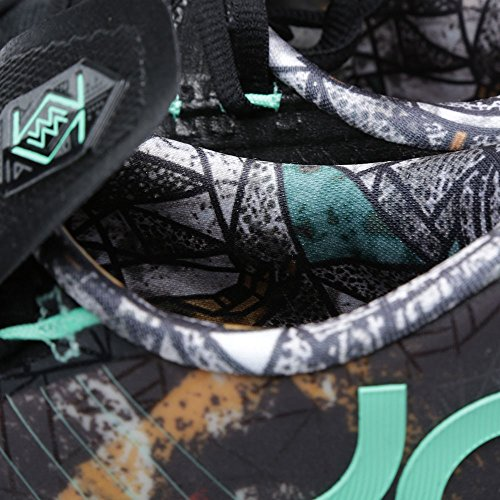 Nike - KD VI - As Nola Gumbo All Star Spiel Illusion Edition Herrn Basketball Turnschuhe 647781 930 Sneaker Schuhe Kevin Durant multi-color, green glow-black