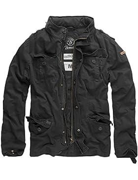 Brandit M65 Britannia - Chaqueta para hombre, estilo callejero, negro, XXXXXL