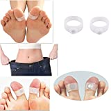 #1: Suplex36 1 Pair Magnetic Toe Ring For Weight Loss, Slimming By Increasing Metabolism
