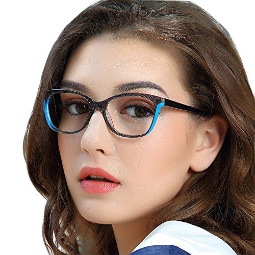 OCCI CHIARI Optische Brille Rahmen Nicht verschreibungspflichtige Brille Acetat-GlasRahmen Geeignet für Menschen mit einer Gesichtsbreite von 122mm