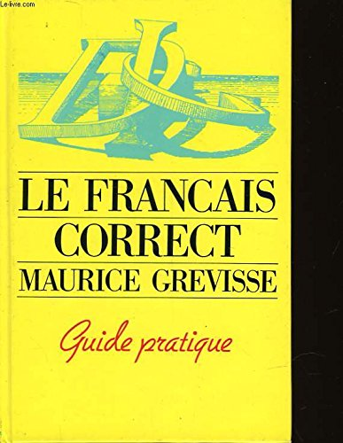 le-francais-correct-guide-pratique
