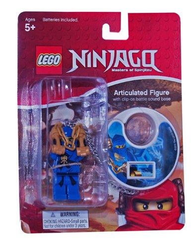 Basic Fun Lego BF11641 - Ninjago Schlüsselanhänger - Jay (Fun-schlüsselanhänger Basic)