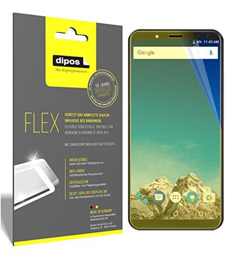 dipos I 3X Schutzfolie 100% passend für Vernee X Folie (Vollständige Bildschirmabdeckung) Bildschirmschutzfolie