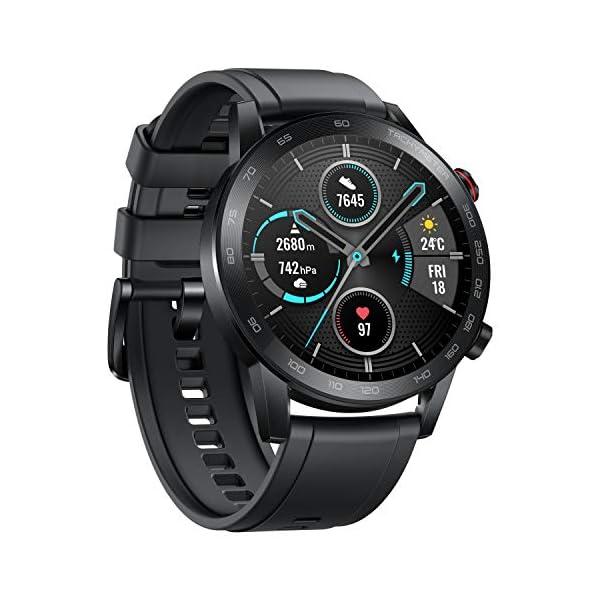 Honor MagicWatch 2 46 mm Smart Watch, con monitor de ritmo cardíaco y estrés, modos de ejercicio, aplicación para correr… 4
