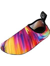 Panegy - Zapatos Agua Escarpines Respirable Calzado de Playa Surf  Zapatillas Chanclas Secado Rápido Aqua Shoes 4e935907c18