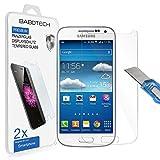 2 x Samsung Galaxy S4 Mini - BABOTECH Ultra-Klar Panzerglas 9H Hartglas Kratzfest Schutzfolie Tempered Glass