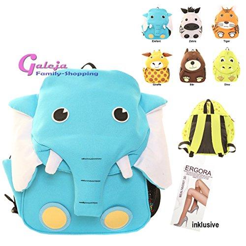 Galeja Kinder Rucksack Dino L30xB24xT10 Kindergartenrucksack Giraffe