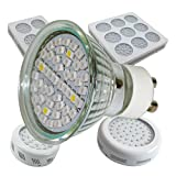 3 Watt LED Spot GU10 Pflanzenleuchte Wuchs und Blüte Grow