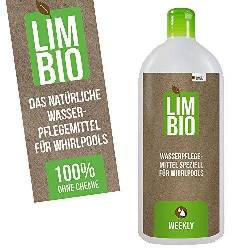 Limbio chlorfreie Wasserpflege, biologische Whirlpool Wasserpflege Whirlpool 125 ml