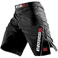 Pantalones cortos para hombres, pantalones cortos de MMA, pantalones cortos de combate, pantalones de artes marciales - Todos los tamaños