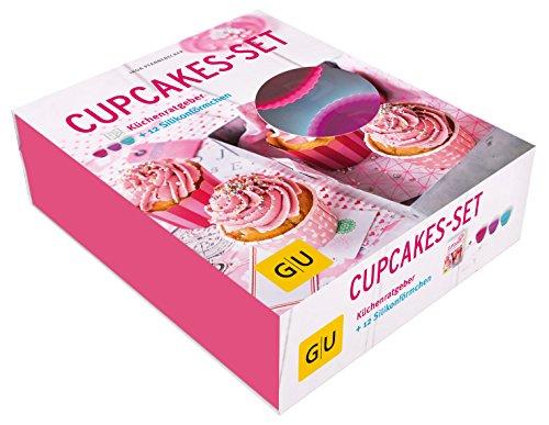 Cupcakes-Set: Mit 12 Silikon-Förmchen (GU BuchPlus)