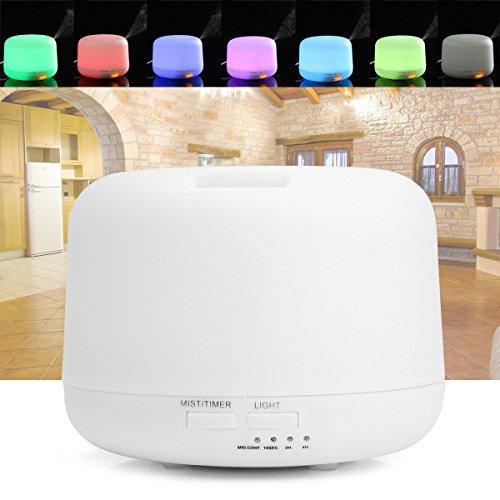 Global LED diffuseur d'air purificateur atomiseur ultrasonique Aroma Froid, humidificateur, nuit, lumière, maison