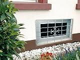 Fenstergitter Euro von GAH Alberts H: 69 cm x B: 114 cm (individuell kürzbar)