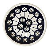 kleiner Bunzlauer Keramik Teller (Sushiteller) Ø11,6 cm Dekor 8