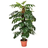 Planta artificial monstera 135 cm altura, Catral 74010020