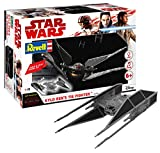 Revell Build & Play Star Wars Kylo Ren's TIE Fighter - 06760, Maßstab 1:70, originalgetreue Nachbildung mit beweglichen Teilen, mit Light&Sound Effekten, robust zum Spielen