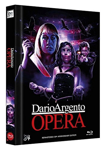 Dario Argento - Opera - Limited 4 Disc Mediabook 30th Anniversary Blu-Ray + DVD 555er Edition