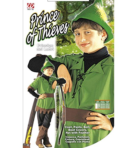 Imagen de widman  disfraz de robin hood infantil, talla 5  7 años 38366  alternativa