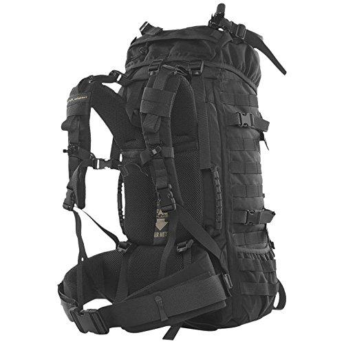WiSPORT® RACCOON 85 Rucksack | 85 Liter | Militär | Cordura | MOLLE | Marschrucksack | Outdoor | Camping 17. 45 Liter A-Tacs LE