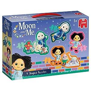 Moon and Me 4in1 Shaped Puzzle - Rompecabezas (Rompecabezas de Figuras, Dibujos, Niños, Niño/niña, 3 año(s), Interior)