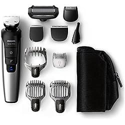 Philips QG3398/15 Serie 7000 PRO - Recortador barba, cabello y cuerpo, 10 en 1