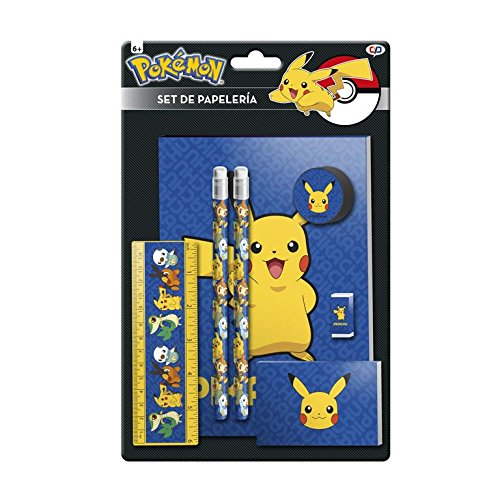 Pokemon gs-402-pk Pikachu Stationery Set