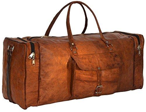 "Messenger of Leather , Borsa Messenger  marrone Brown 22"" x 11"" x 10"" Brown"
