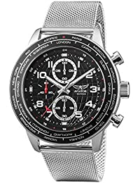Aviator AVW83507G411 - Reloj cronógrafo para Hombre