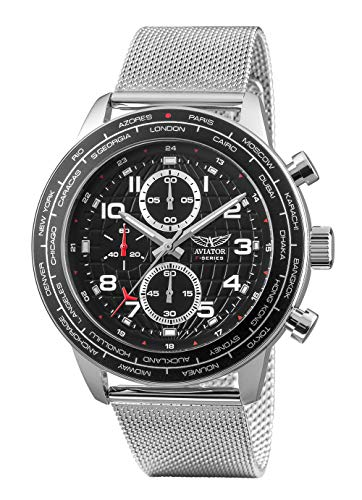 Aviator AVW83507G411 - Cronografo da uomo World Cities