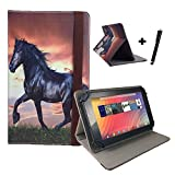 DENVER TAQ 10133 / 10.1 ' Tablet Pc Tasche + Stylus Touch Pen - 10 Zoll Pferd